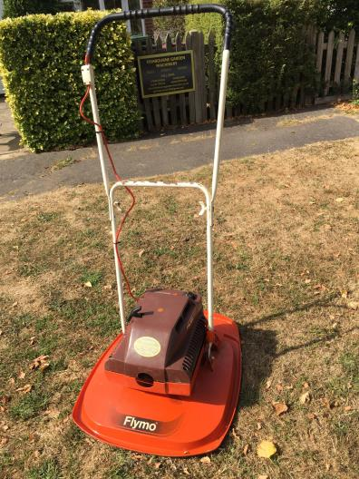 Used Flymo Pilot L47 lawn mower for sale